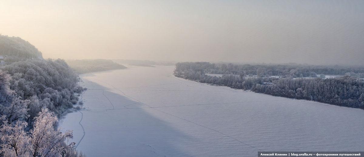 Зима уфа фото