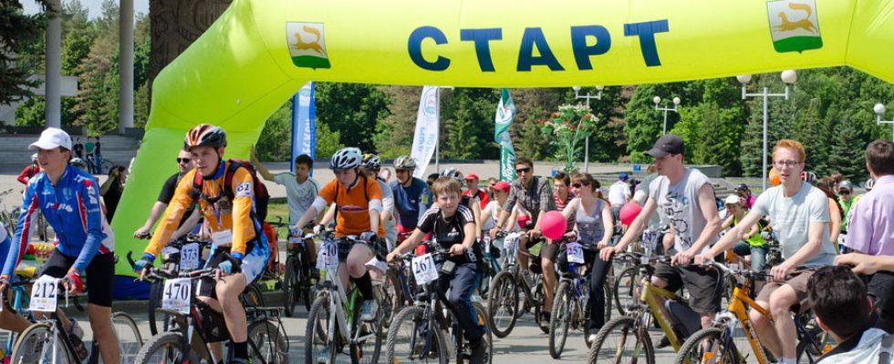 День 1000 велосипедистов. Уфа, 2012