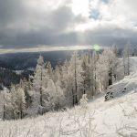Начало зимы на хребте Крака