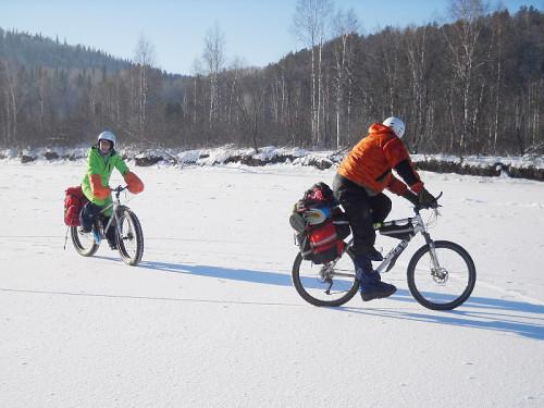 Зимний велопоход по Инзеру