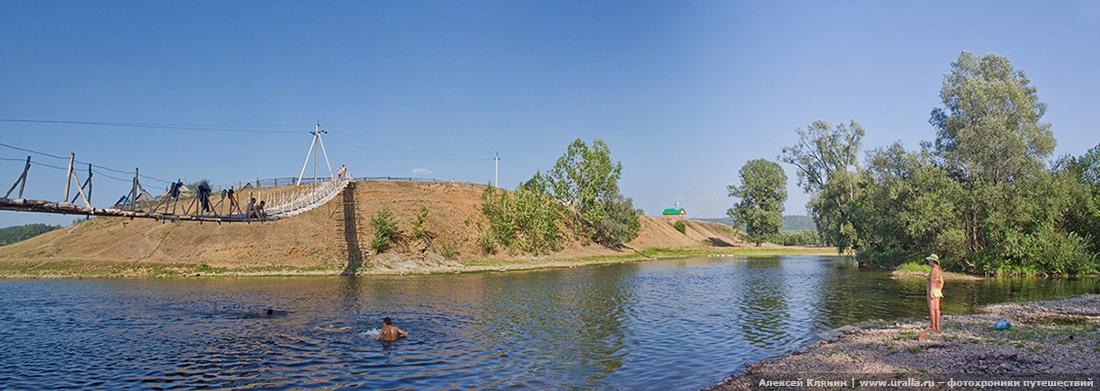 Мост в деревню Верхние Лемезы