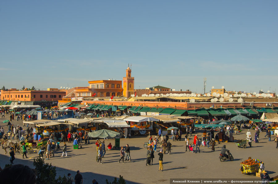 Рынок в Маракеше