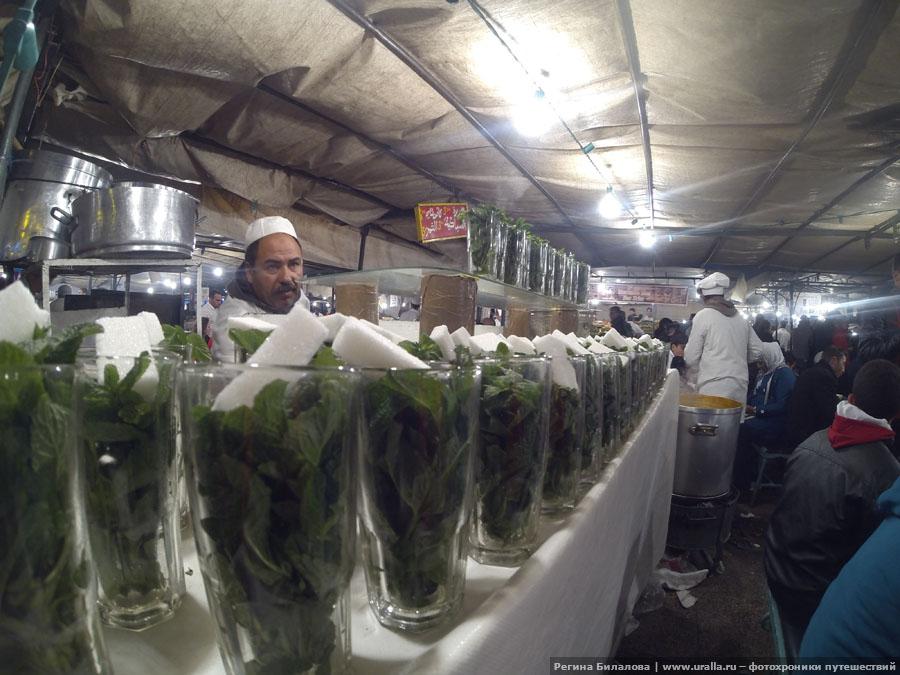 Рынок в Марокко