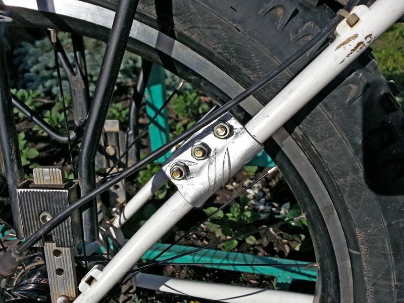 велосипед с ременным приводом