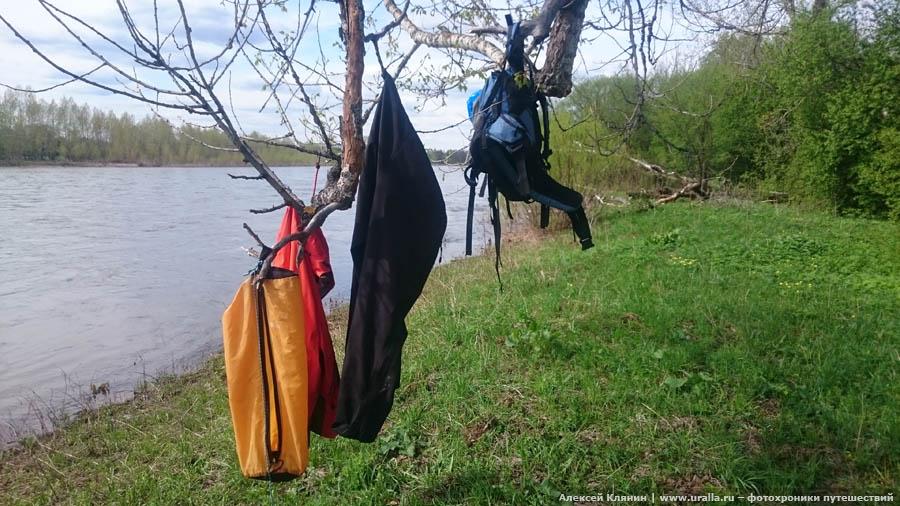 Весенний сплав по Инзеру