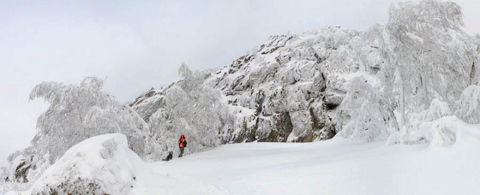 Зимняя прогулка на гору Арвякрязь