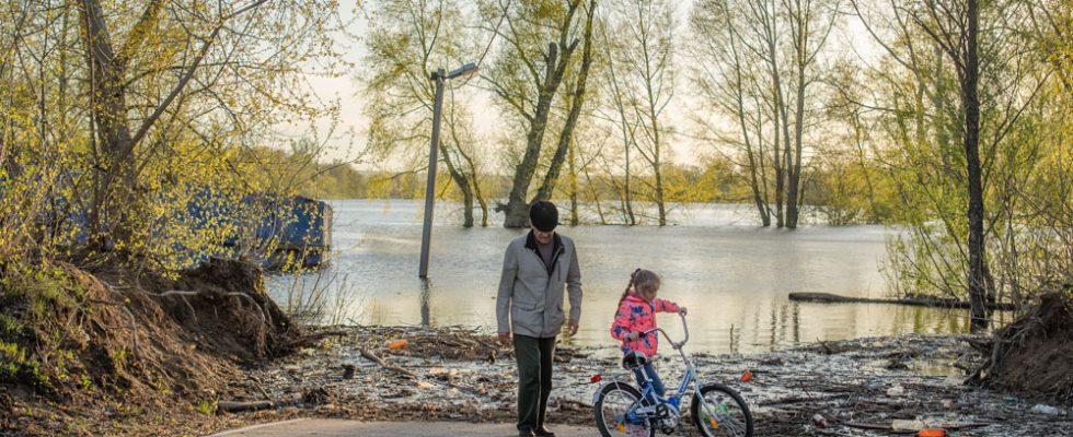 Паводок в Уфе. Ситуация в Затоне
