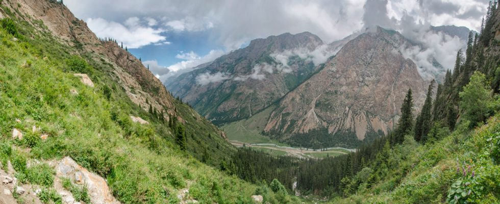 Киргизия. Ущелье Барскоон. День 5