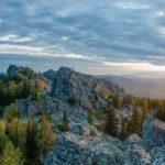 Начало сентября на горе Машак (Медвежья)
