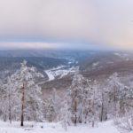 Зимний хребет Караташ, станция Айгир