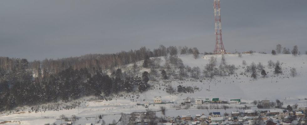 Дорога Тастуба — Караидель зимой 2020 года