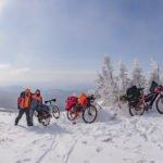 Зимний велопоход на Иремель